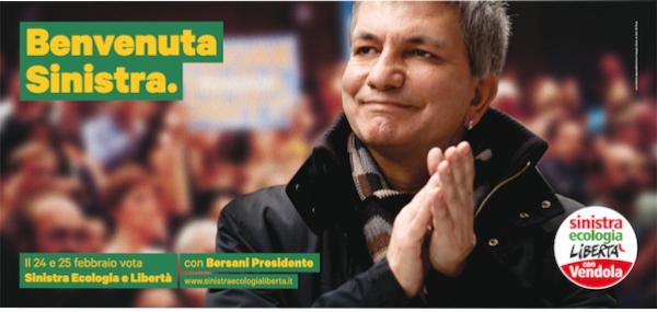 Monica Cerutti al Senato con Sinistra Ecologia e Libertà
