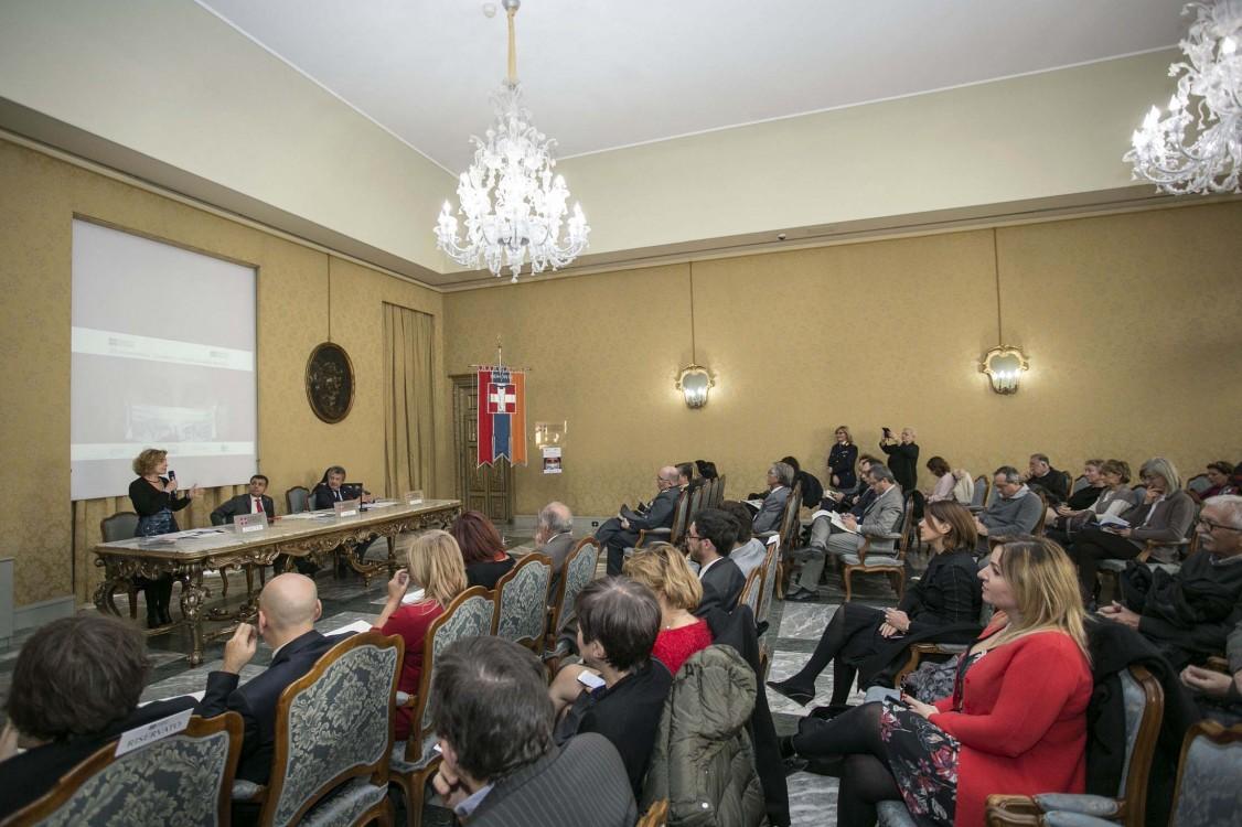 23/11/2017 conferenza stampa sulla violenza contro le donne - Interviene l'Assessora Monica Cerutti
